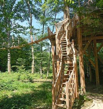 cabane sur l 39 eau cabane duo flottante spa miroir la cabane en l 39 air. Black Bedroom Furniture Sets. Home Design Ideas