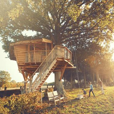 350 cabanes dans les arbres et sur l 39 eau la cabane en l 39 air. Black Bedroom Furniture Sets. Home Design Ideas